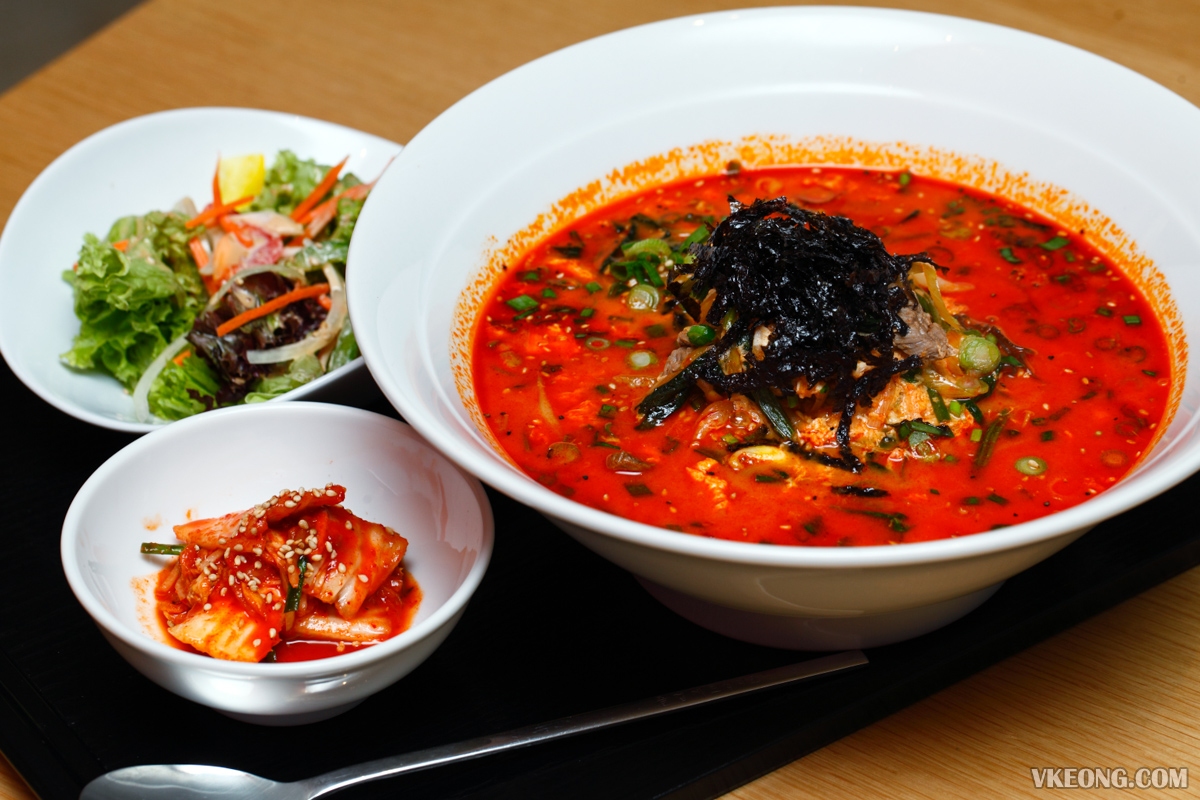 Yakiniku Toraji Yukkejang Noodles Soup