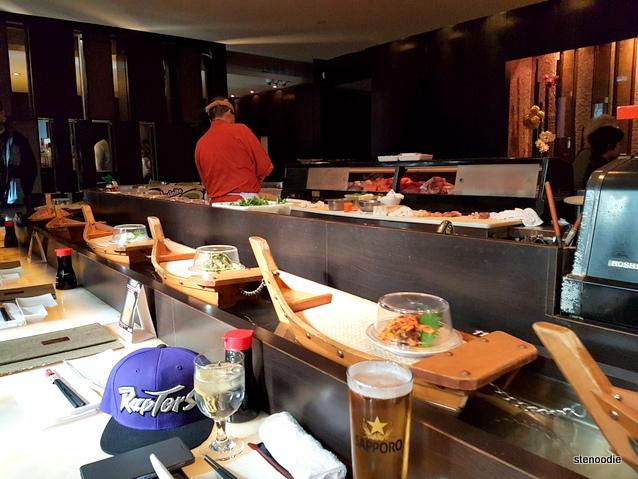 Fune Japanese Restaurant Sushi boats