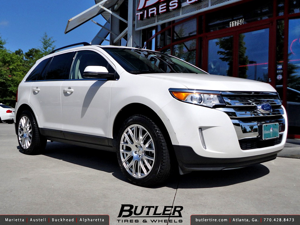 Ford Edge With In Tsw Mugello Wheels By Butler Tires And Wheels
