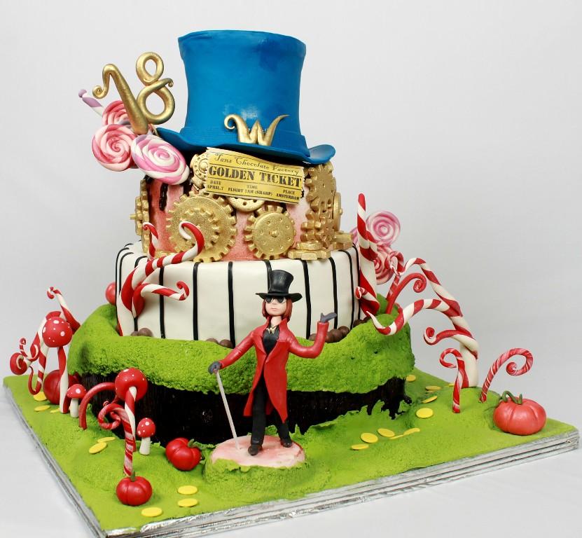 Chocolate Factory 18th Birthday