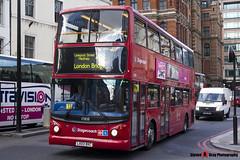 Dennis Trident 2 Alexander ALX400 - LX03 BXC - 17808 - Stagecoach - London - 140926 - Steven Gray - IMG_0245