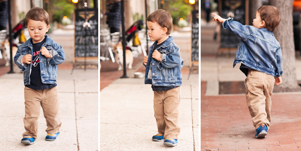 cute & little | toddler kids fashion | toddler boy denim j… | Flickr
