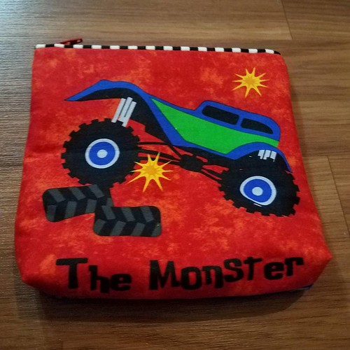 Happy Monster Truck birthday to my nephew Payton.