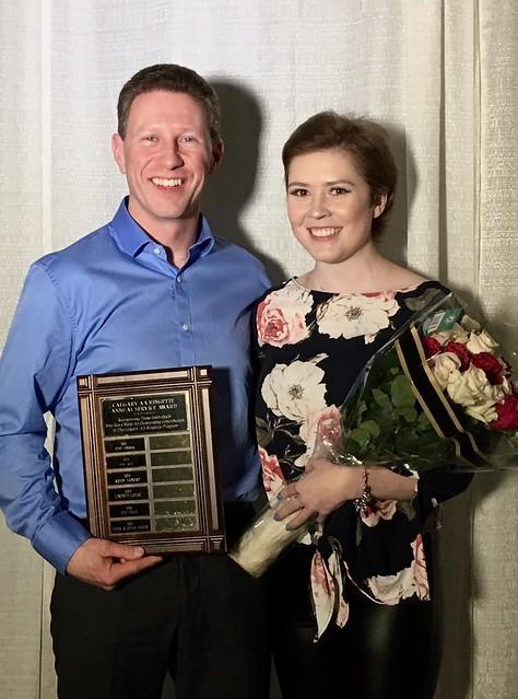 Calgary AA Volunteer Service Award 2017 - Jenna and Leigh Sauer