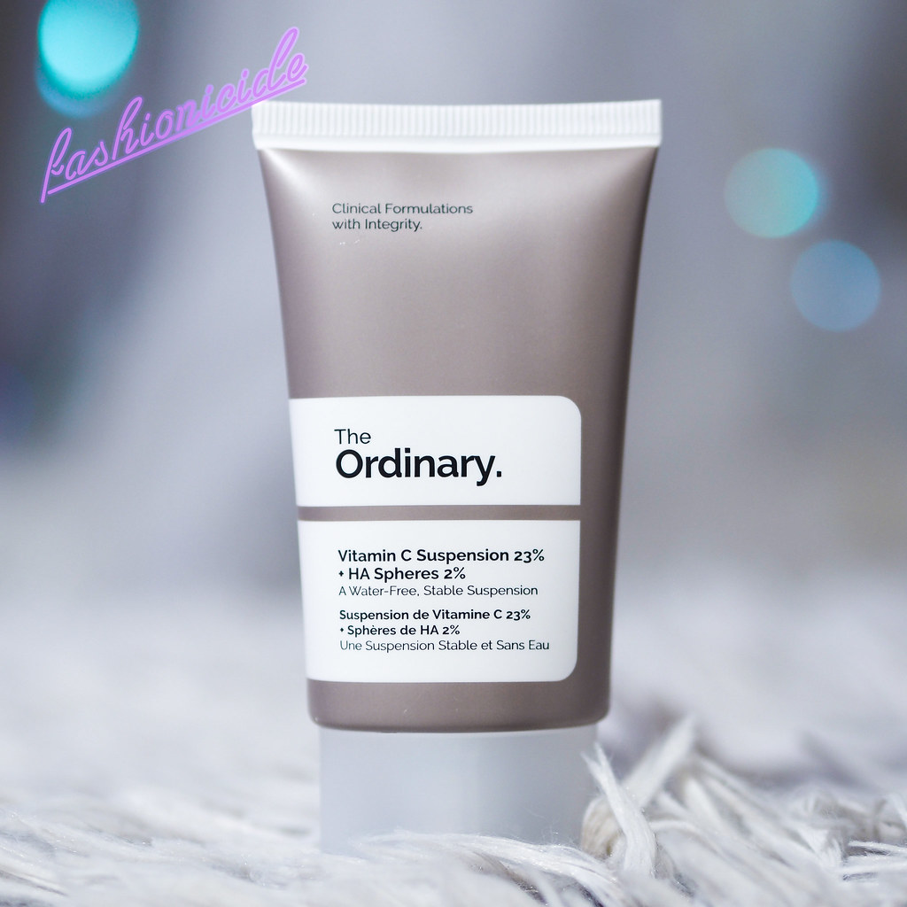 The Ordinary Vitamin C Suspension Review Milia Comedones Whiteheads