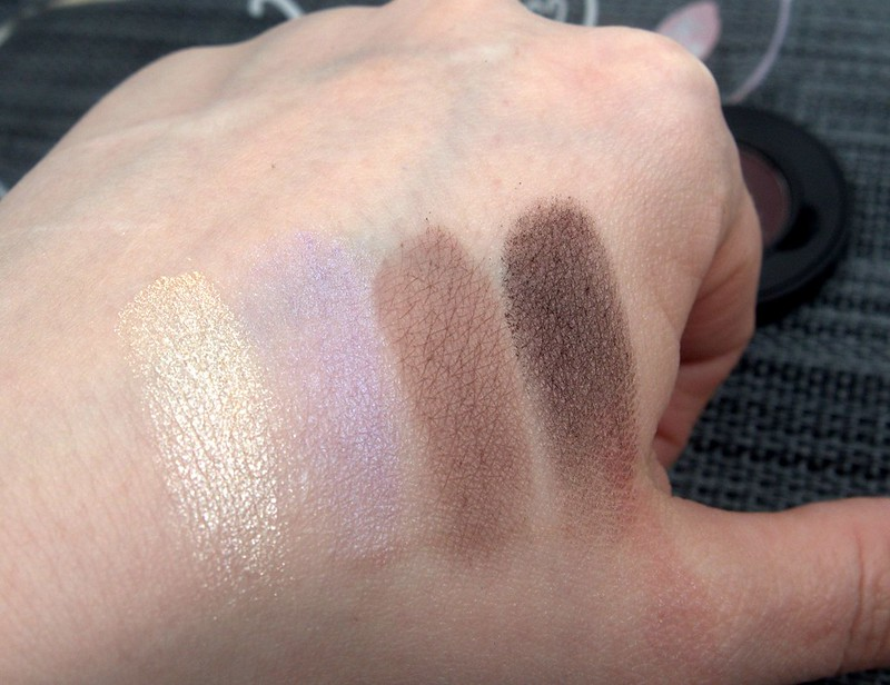Essence My Must Haves eyeshadow swatches