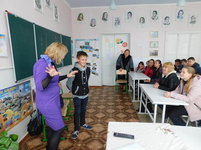 """Виїзна інформаційна сесія """"Бібліотека пропонує молоді"""" у Себине"""
