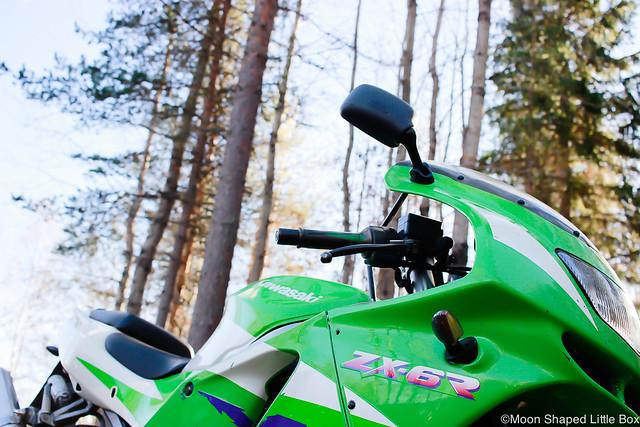 MoottoripyöräilyHarrastuksenaMoottoripyöräKyykkyKawasakiNinja