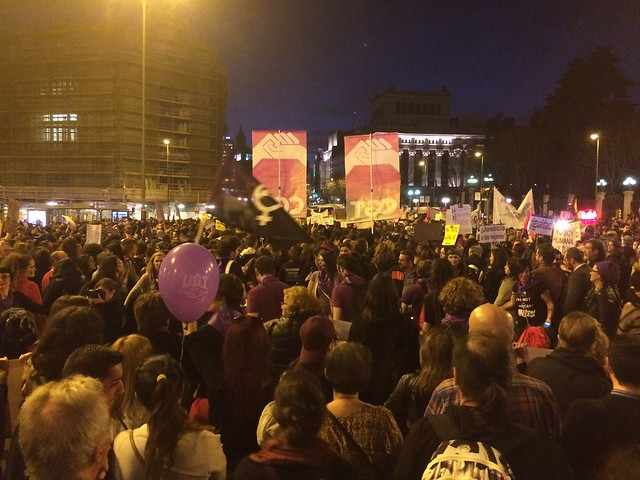 Manifestación 8 de Marzo de 2017 en Madrid