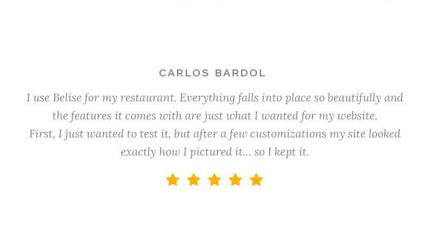 Фото Wordpress премиум тема  Belise - Exquisite Minimalist  Restaurant Theme — 33335113382 4f355d8cd6 o
