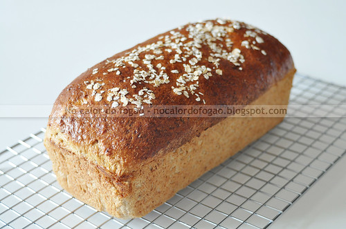 Pão de mingau de aveia