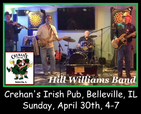 Hill Williams Band 4-30-17