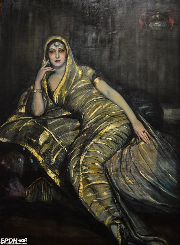 La princesa malagueña de Kapurthala