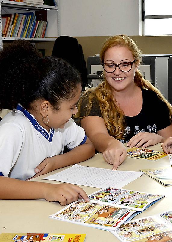 Escolas Municipais recebem gibis sobre o Tribunal de Contas