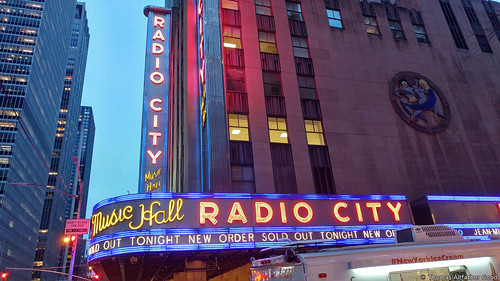 New Order at Radio City - Sold Out