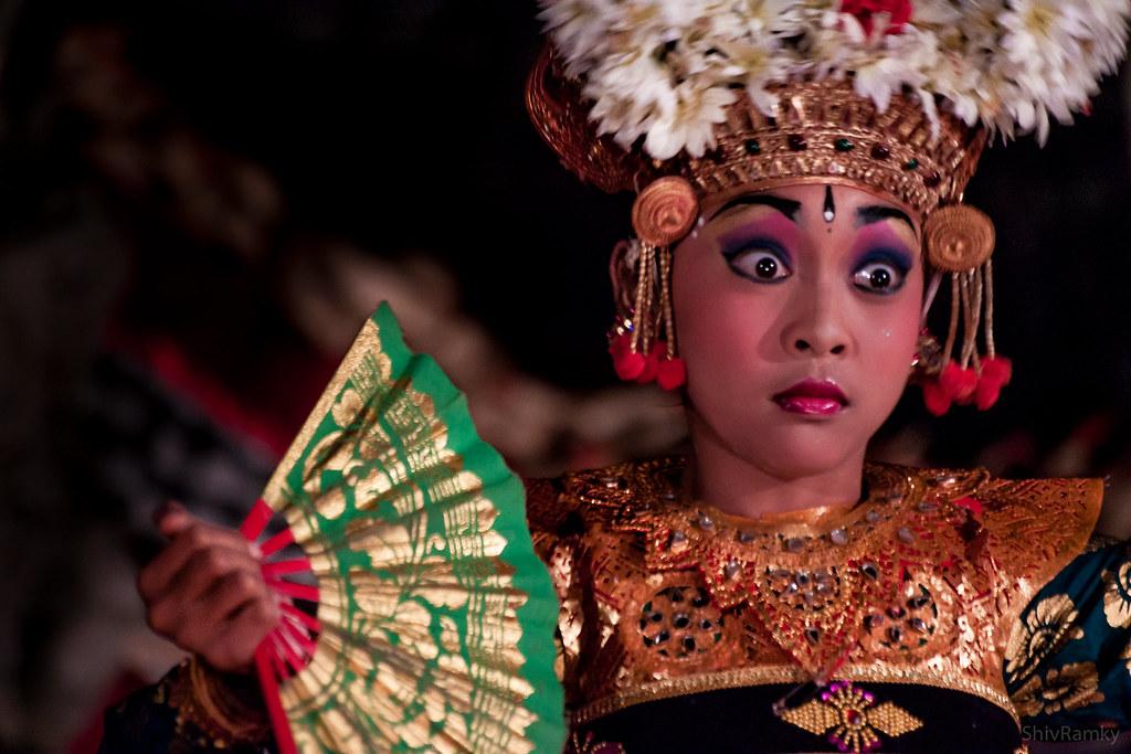 Balinese Dancer, Ubud, Indonesia