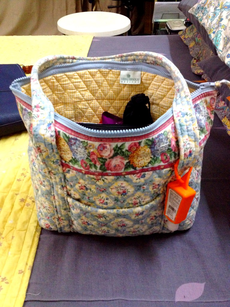 I  My new vintage Vera Bradley Petite Miller bag in Pastel Blue ... I  71b3435696