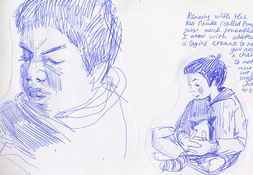 Sketchbook #102: Reading Time