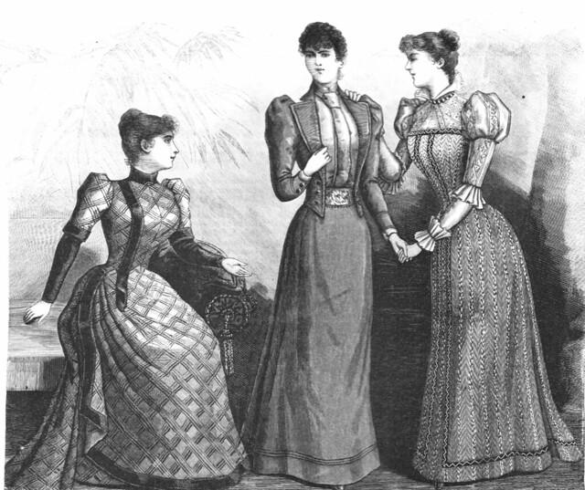 Robe avec jaquette et chemisette, 1892