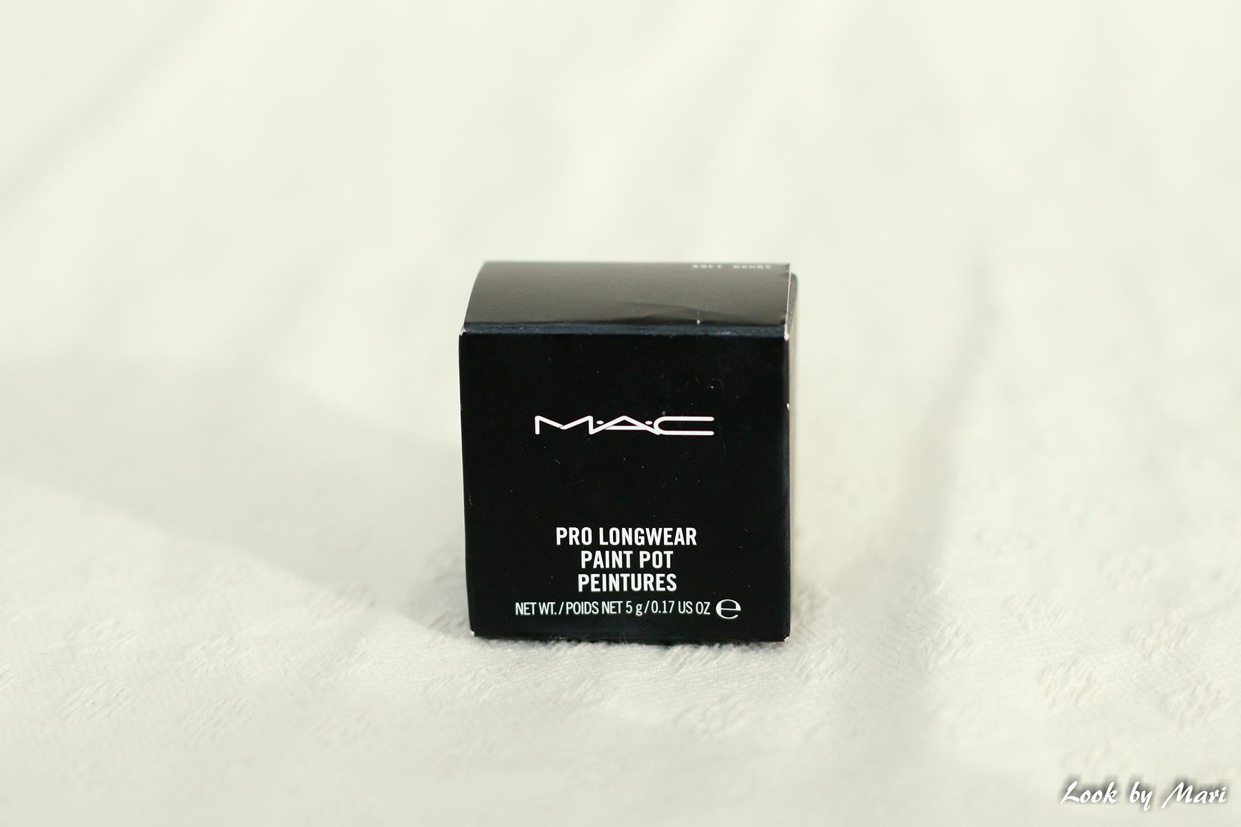 2 Mac pro long wear paint pot sävy soft ochre kokemuksia väri suomi kuinka käyttää pohjustus silmämeikin