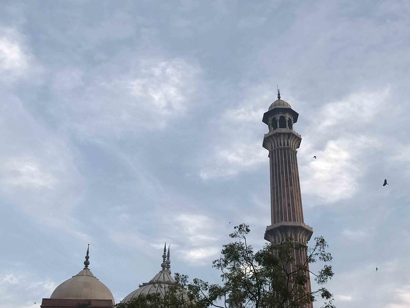 Photo Essay - The Deceitful Sky Over Our Jealous Jama Masjid, Old Delhi