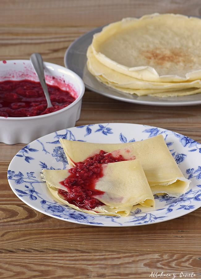 Omeletten - Crêpes - Palatschinken