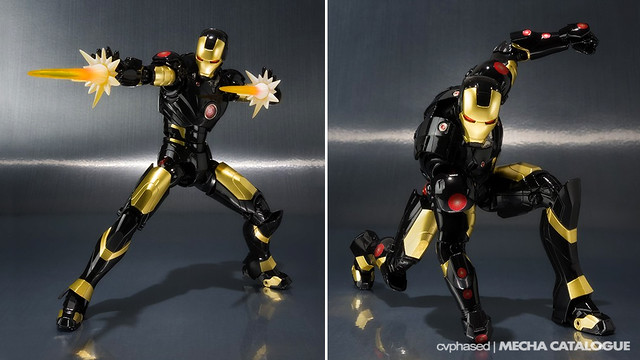 Marvel Age of Heroes Exhibition - S.H.Figuarts Iron Man Mark 3 (Marvel Now Iron Man)