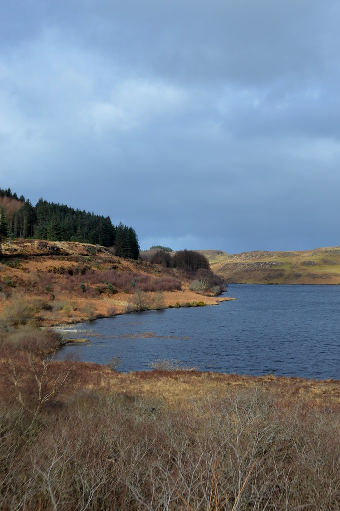 This is a picture of Loch Mor on the isle of mull