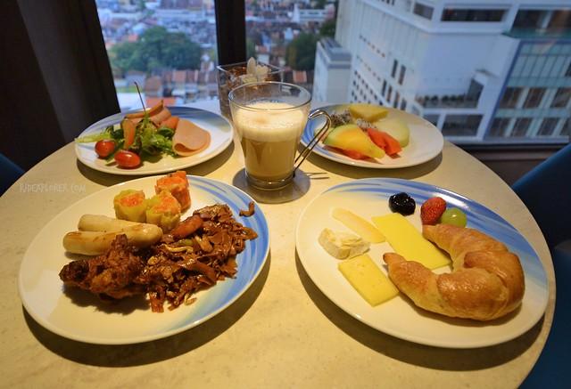 hotel jen penang breakfast club lounge