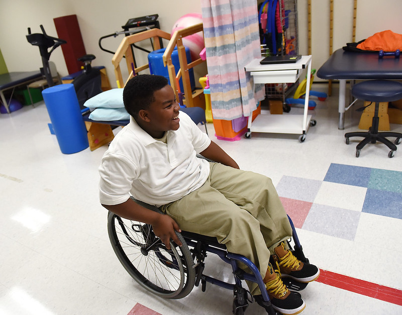 Left Paralyzed in Drive-By Shooting, Riley Patient Takes His First Steps