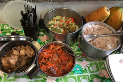 Sibale island - Lunch at Auntie's