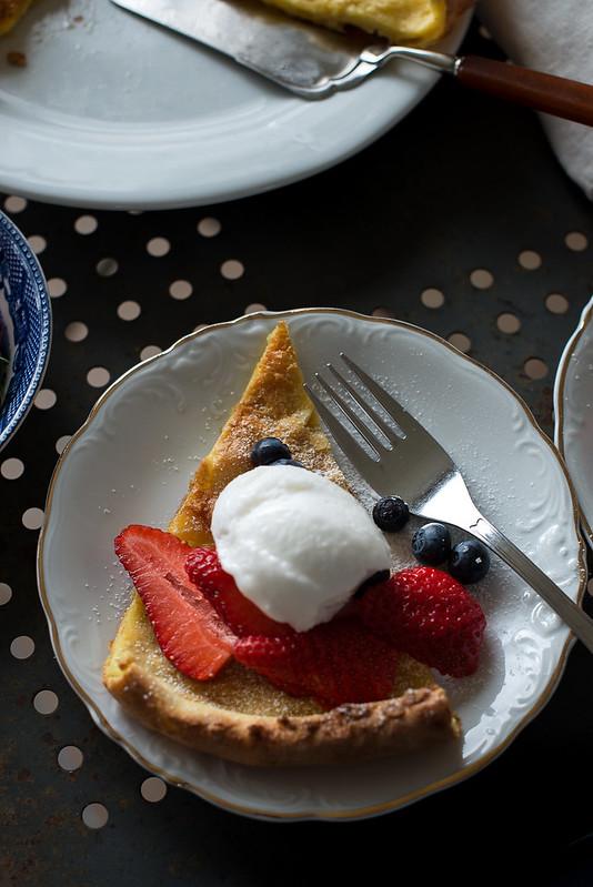 dutch baby pancake pannekake 06