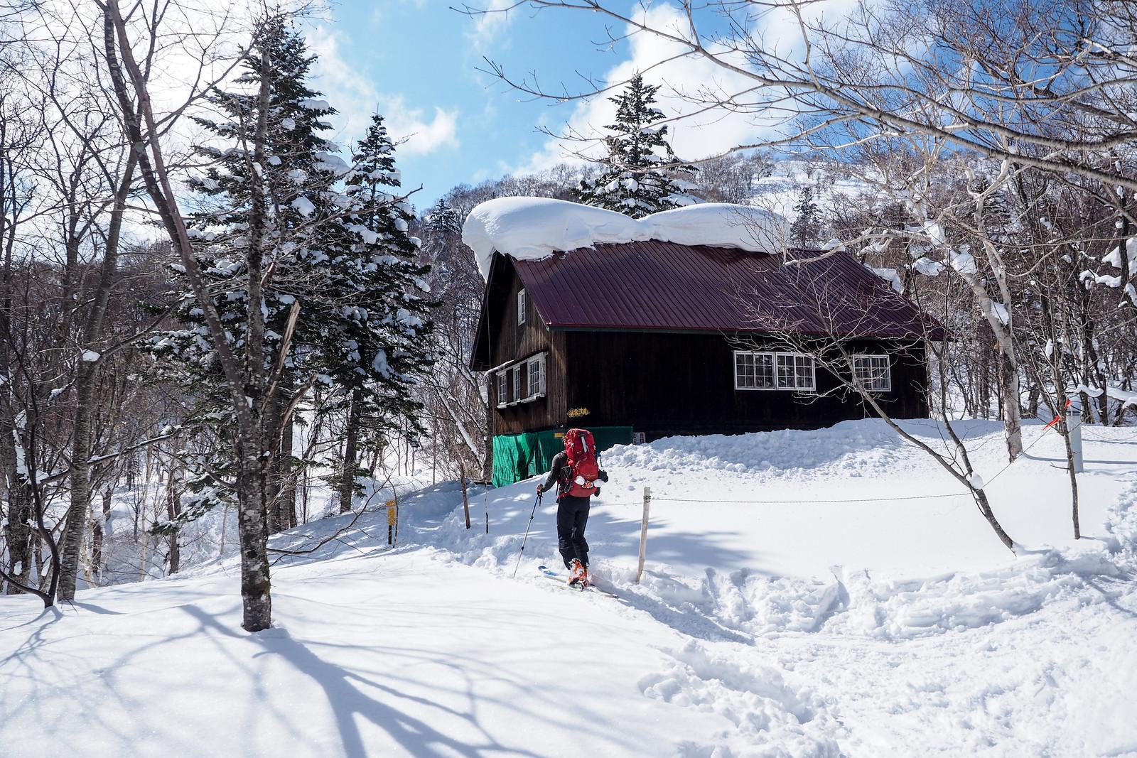 Okuteine-Haruka Traverse ski tour (Sapporo City, Hokkaido, Japan)