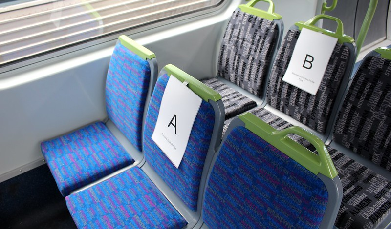 Comeng train proposed interior upgrades