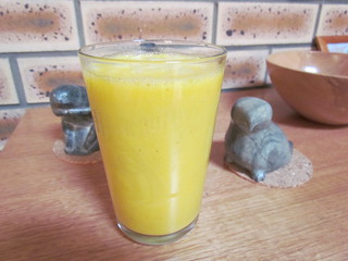 Electric Turmeric-Lemonade Smoothie