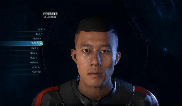 Mass Effect Andromeda - Male Head 4