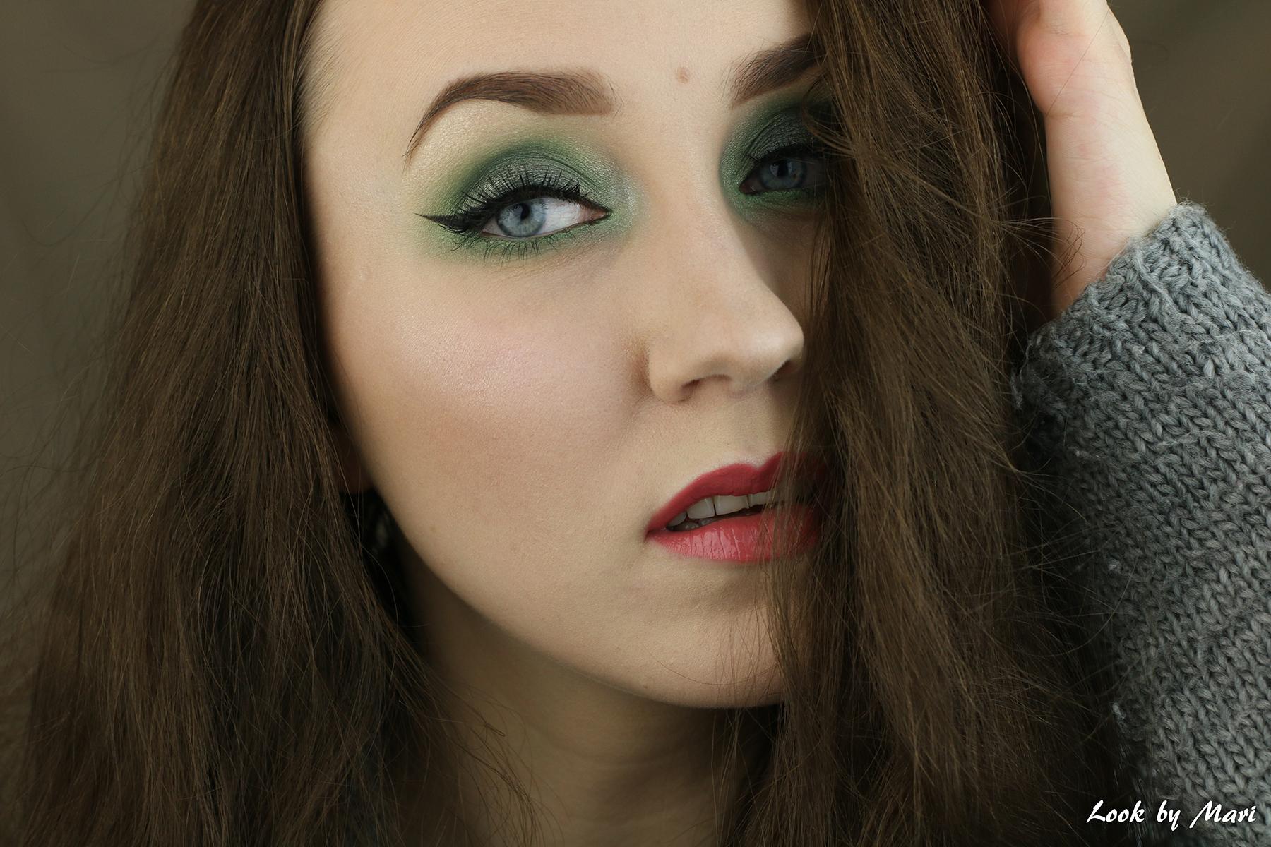 6 vihreä silmämeikki ideat tutoriaali ideoita siniselle silmille