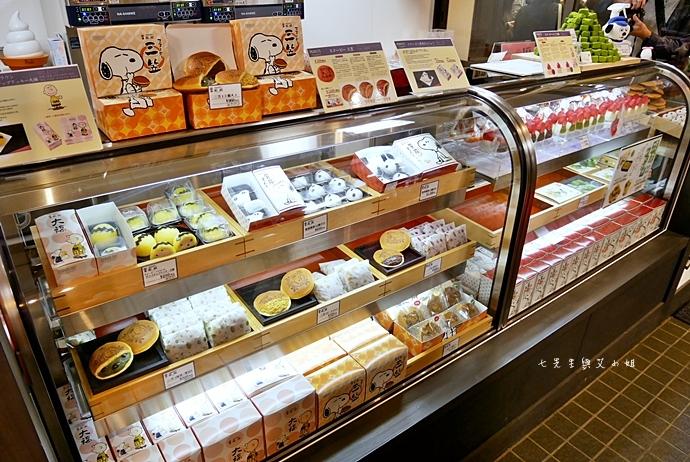 18 日本京都 錦市場 史努比茶屋 スヌーピー茶屋