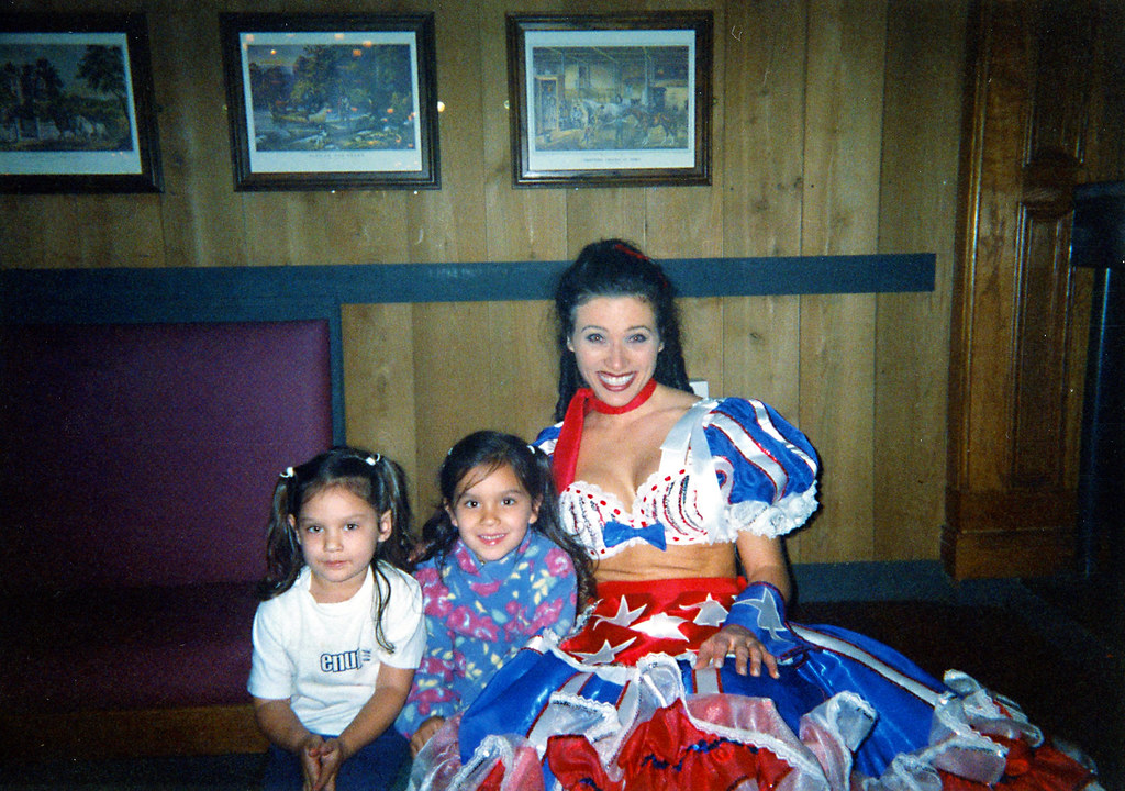 Found Photo Of Woman In Costume With Two Girls Undated Pho Flickr