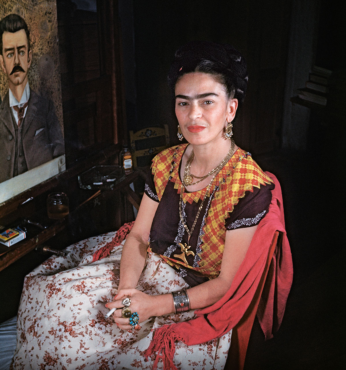 frida kahlo in casa azul_2