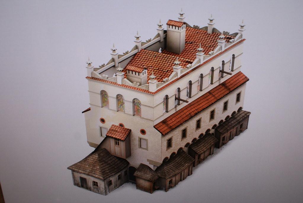 Petite balance publique détruite lors de la réorganisation de la place de Cracovie. Musée d'histoire de la ville.