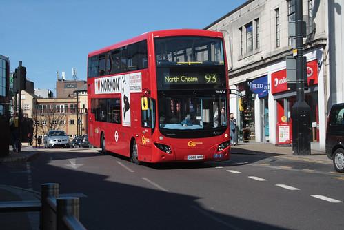 Go-Ahead London MHV34 BG66MKA
