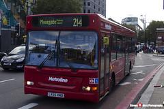 Dennis Dart Plaxton Pointer - LK55 KMO - DLD711 - Metroline - King's Cross London - 140926 - Steven Gray - IMG_0303