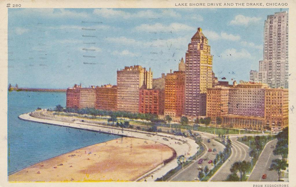 Lake Shore Drive and The Drake - Chicago, Illinois