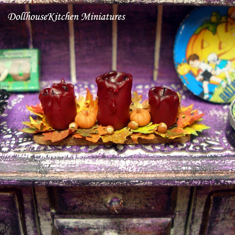 dollhouse miniature halloween by dollhouse kitchen dollhouse miniature halloween by dollhouse kitchen