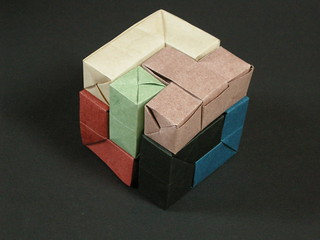 Soma cube by Once | by Mélisande*