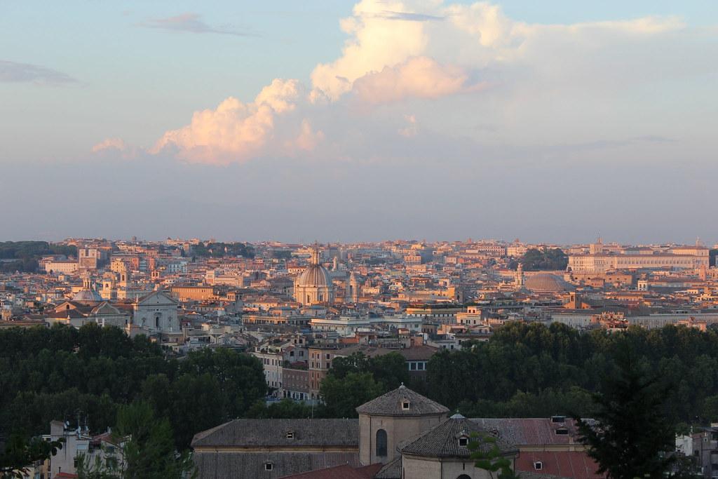 Img 3407 Roma Dal Gianicolo Andrea Gallegati Flickr