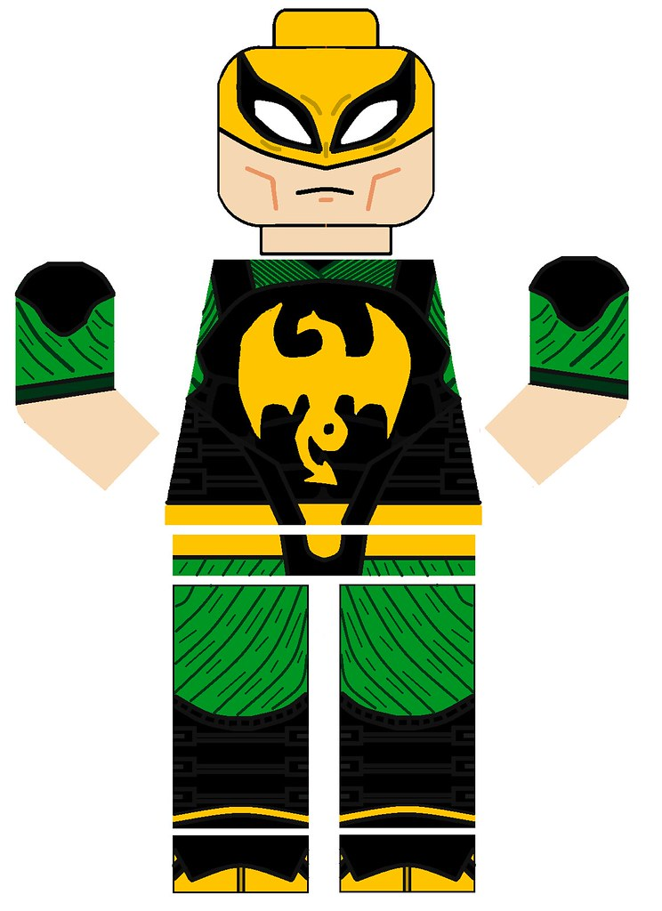 Lego mua 2 iron fist decals by pivote1342