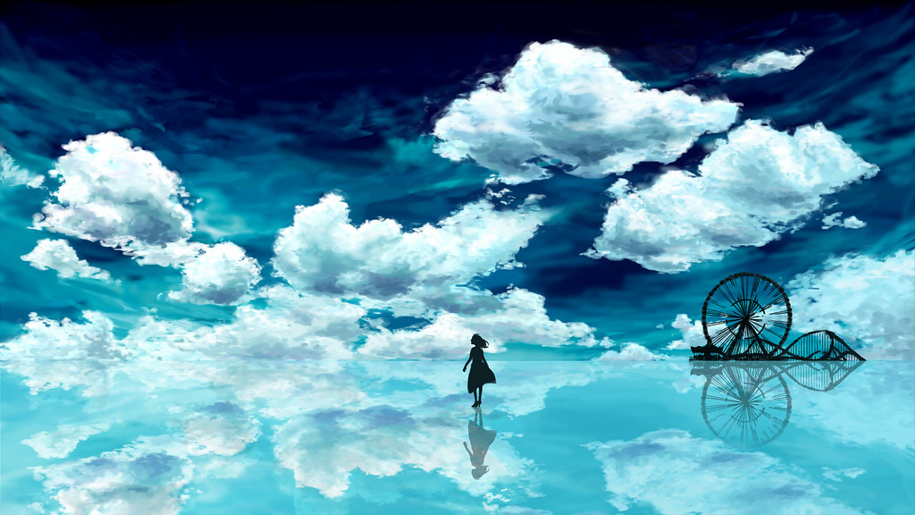 Animuru Anime Scenery Landscape 1600x900 Wallpaper 005