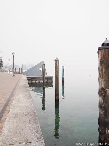 Riva del Garda Gardajärvi rantabulevardi Lake Garda travelblog experiences kokemuksia Riva Garda Italy Italia matkustaminen kahvila hyvä kahvila Riva del Gardassa